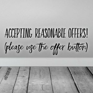 Other - Please use the offer button!